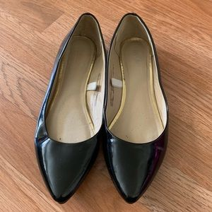 Mossimo pointed flats, NWOT, sz 8